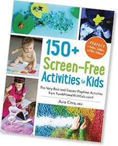 screen free activities book