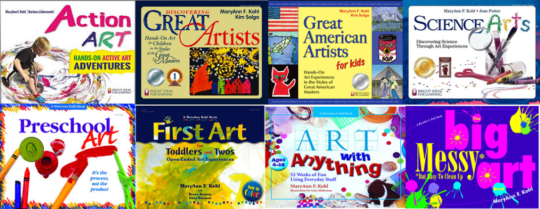 children's art activity books by maryann kohl
